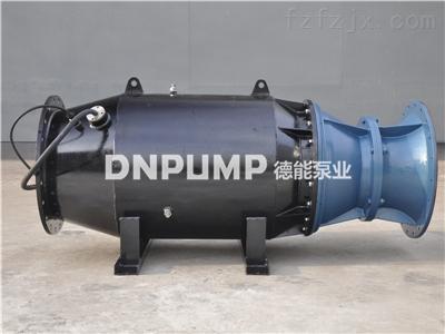 卧式轴流泵泵站设计咨询生产厂家德能泵业